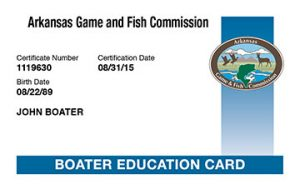 boater education card